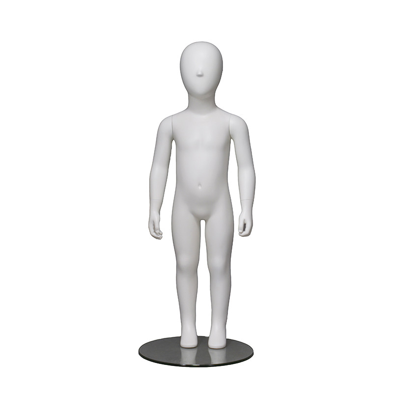 PRIM-225 Staringht standing fashion girls mannequin for store display kids mannequin