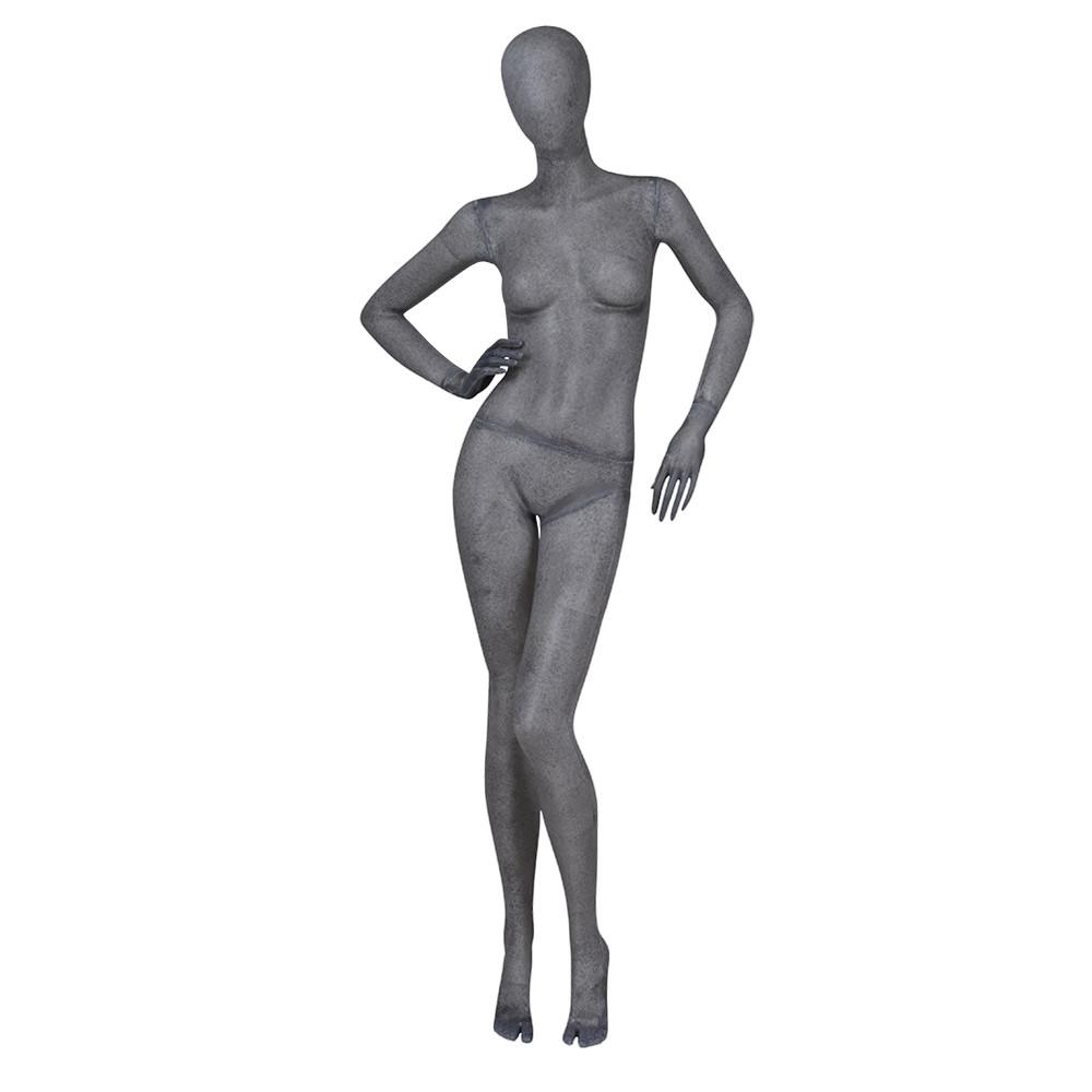 KF-01 Resin color female mannequin full body for display