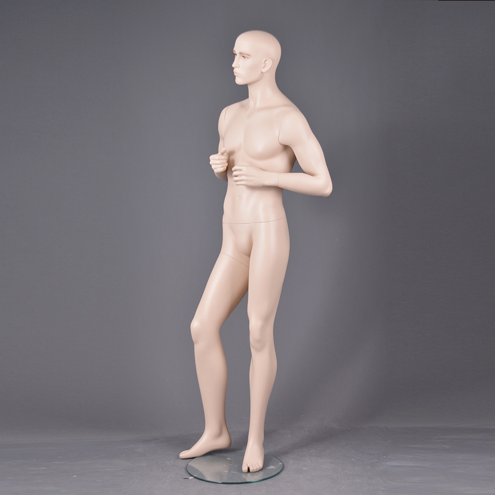 CM-32 Cheap realistic make-up male mannequin with head adjustable