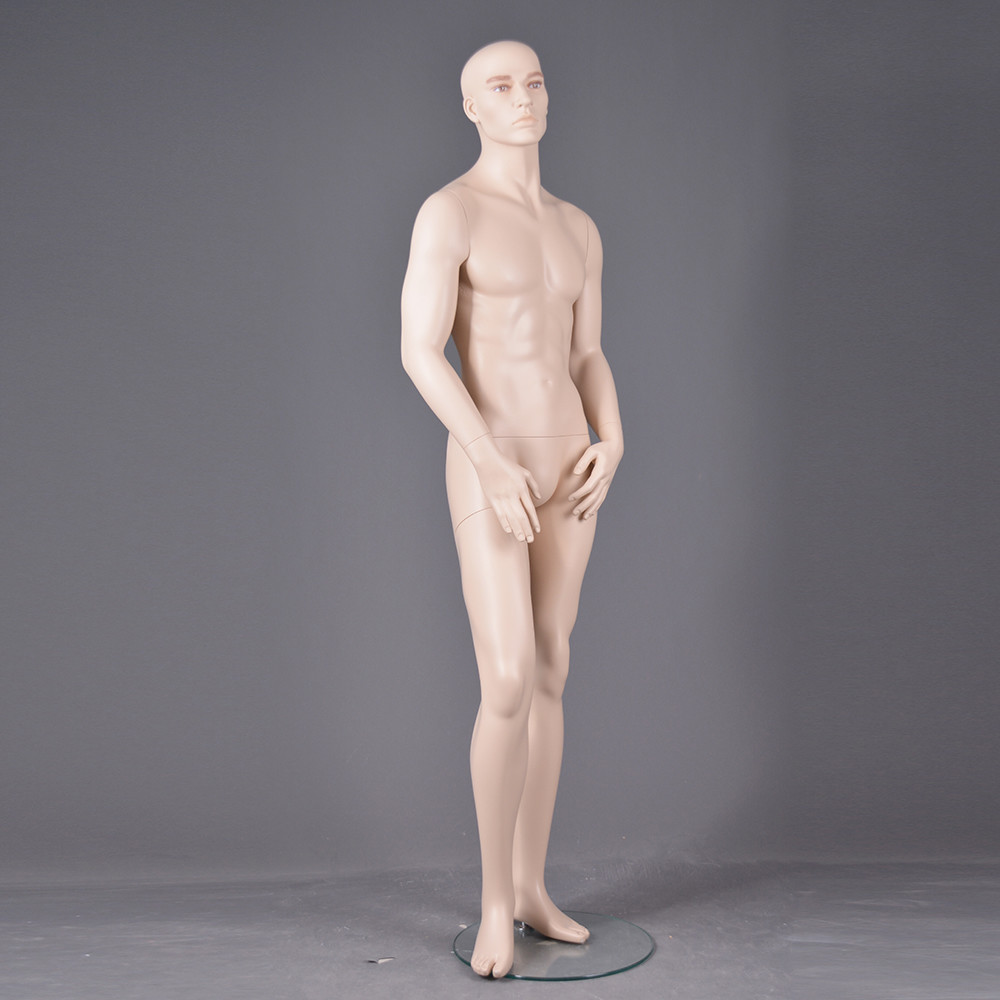 CM-28 Custom realisct make-up mannequin male full body fashion design for display