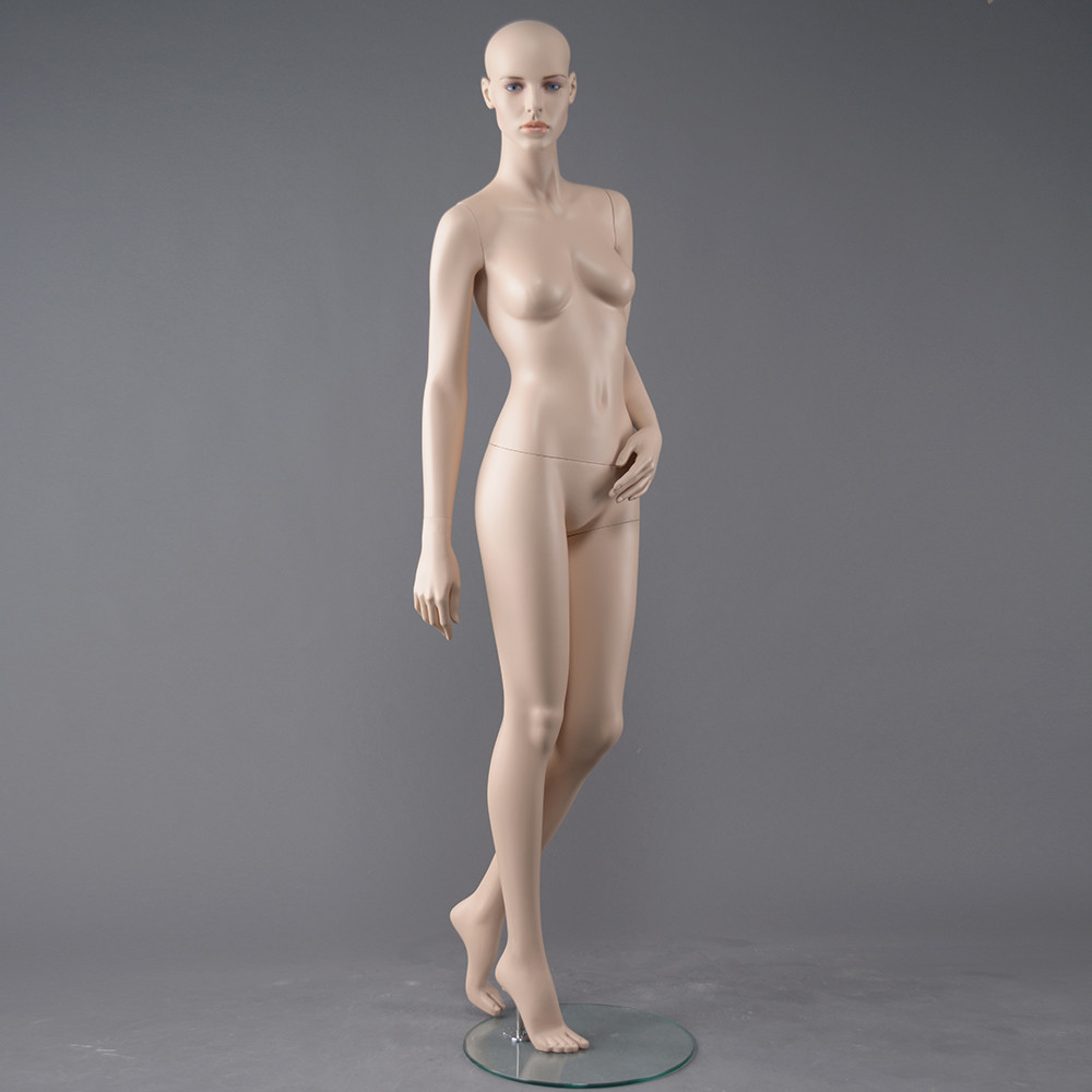 RMF-4 Cusotm female full body mannequin skin color for display