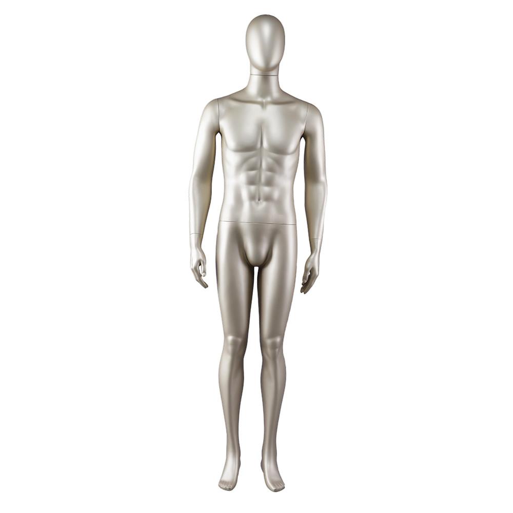 AEM-1 Muscle full body standing gloden mannequin men for sale
