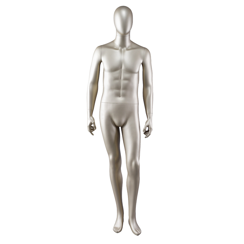 AEM-3 Muscle male glod mannequin full body for clothes display