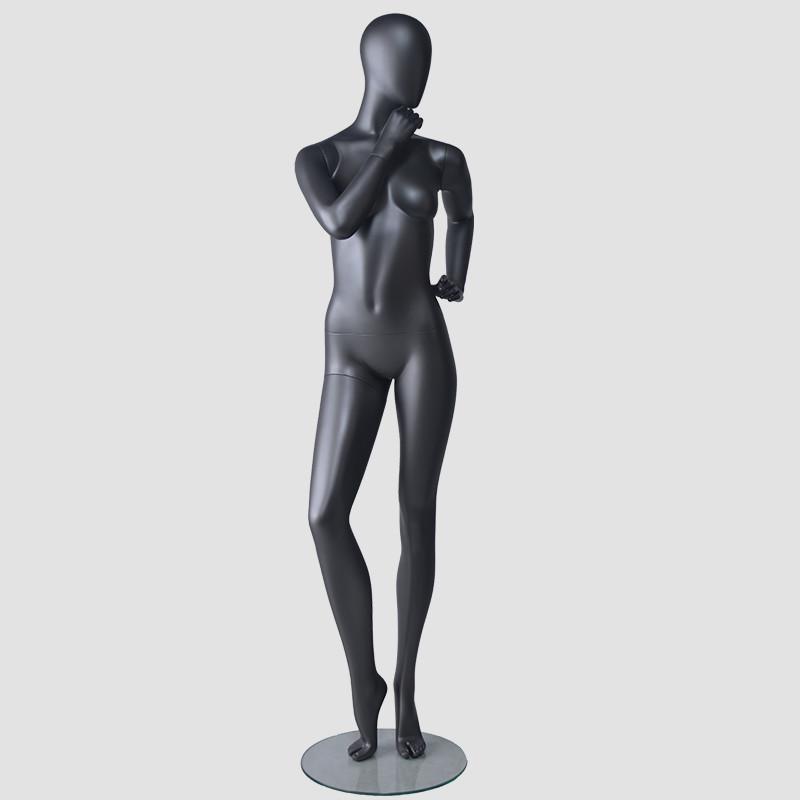 BDS Wholesale female mannequin black female full body mannequin display dummy