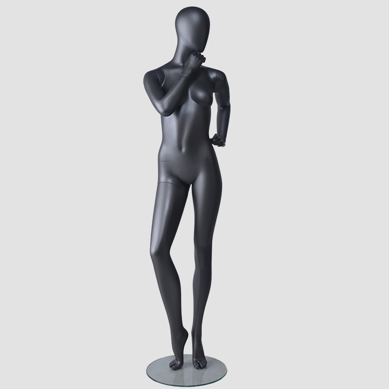 BDS Wholesale female mannequin black female full body mannequin display dummy