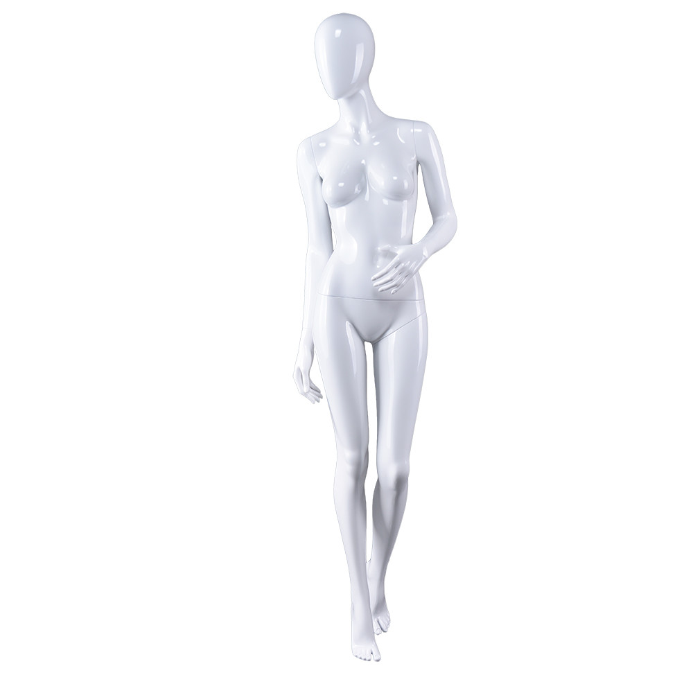 AS-2 Fashion design female ABS plastic mannequin for clothing display manikin maniquies