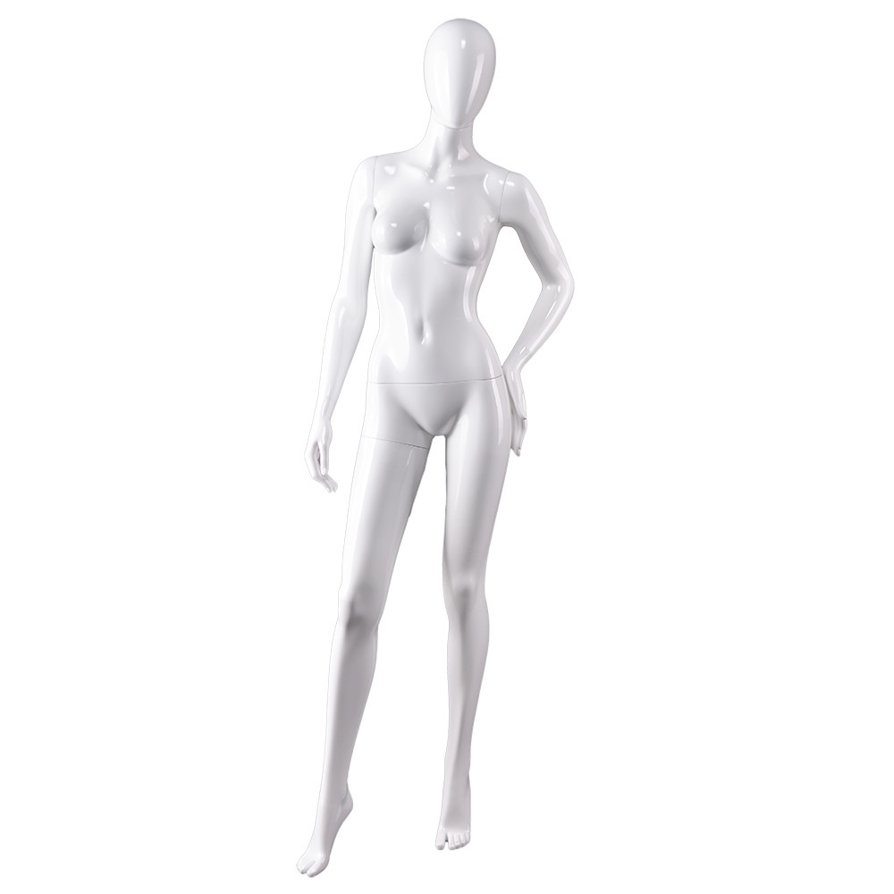 AS-6 Full body stand economic environmental plastic ABS mannequin,clothes shop manikin for sale