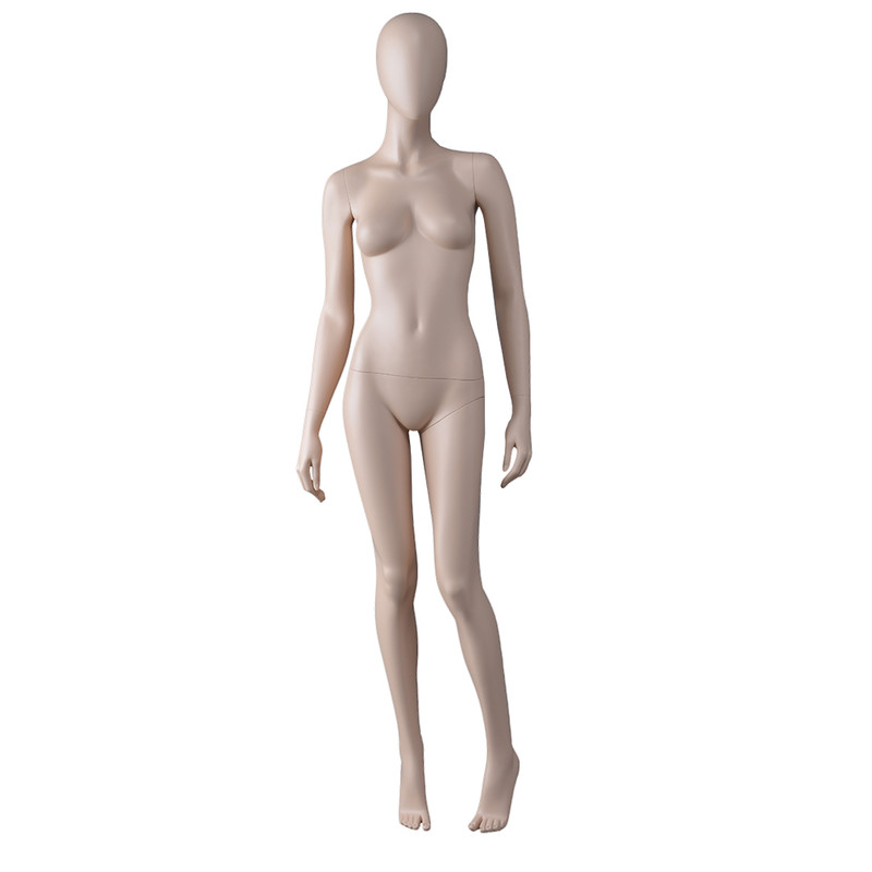 AS-7 Custom female mannequin skin tone display female manikin mannequin in China