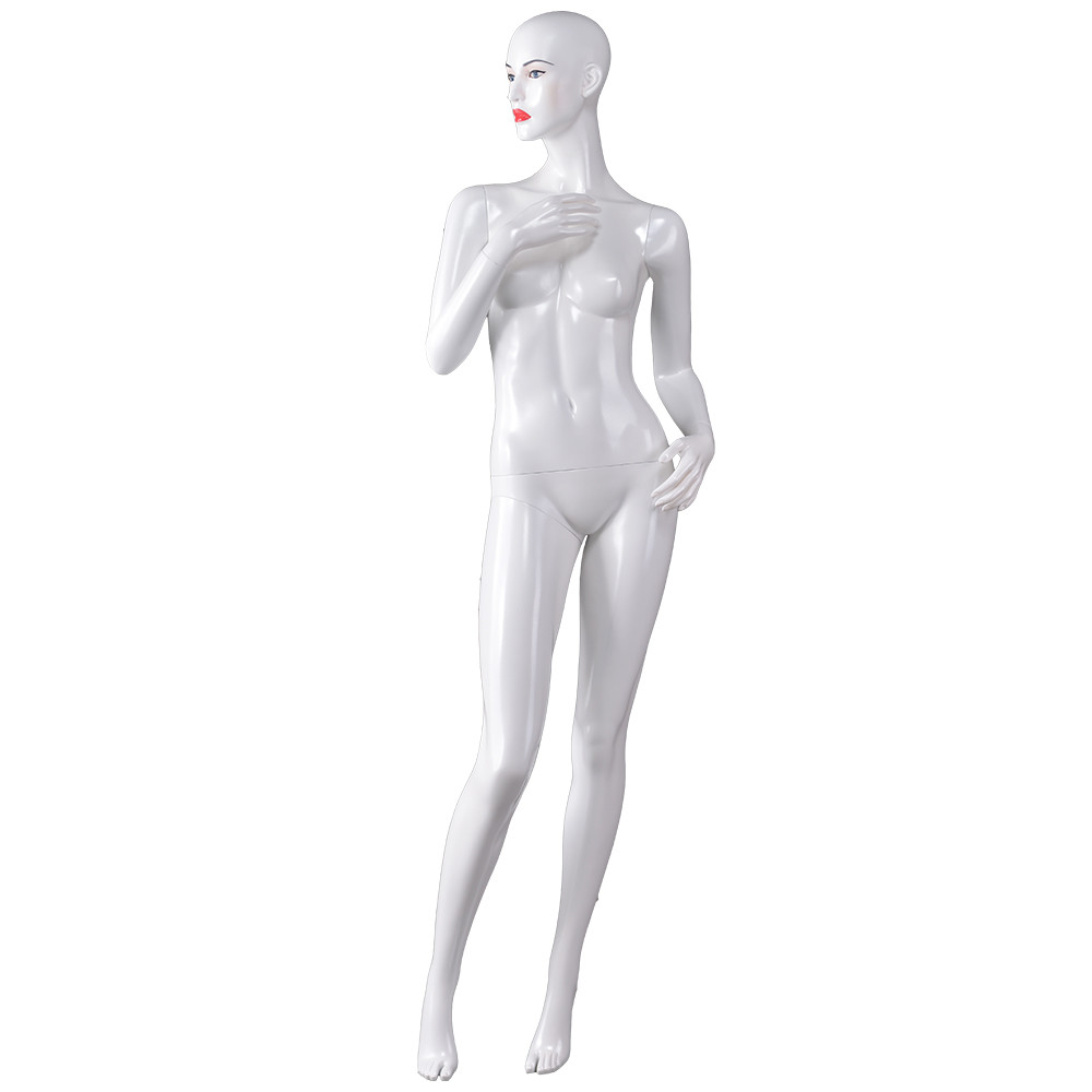 Dior-2 Realistic full body female fiberglass mannequin for window display mannequin