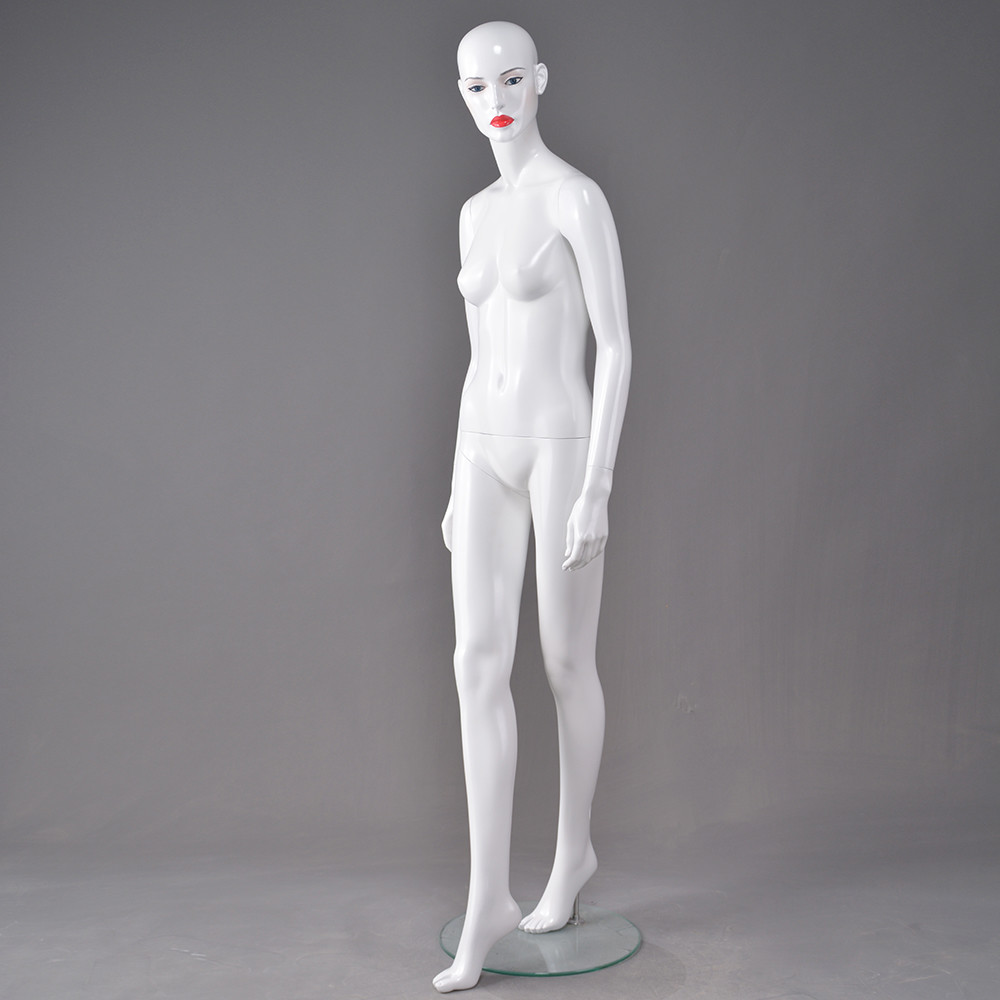 Dior-3 Young lady female mannequins fiberglass realistic mannequin supplier in Italy