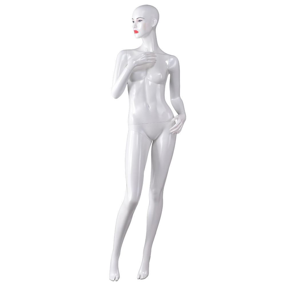 Dior-4 Custom makeup female mannequin store window maniquies female display