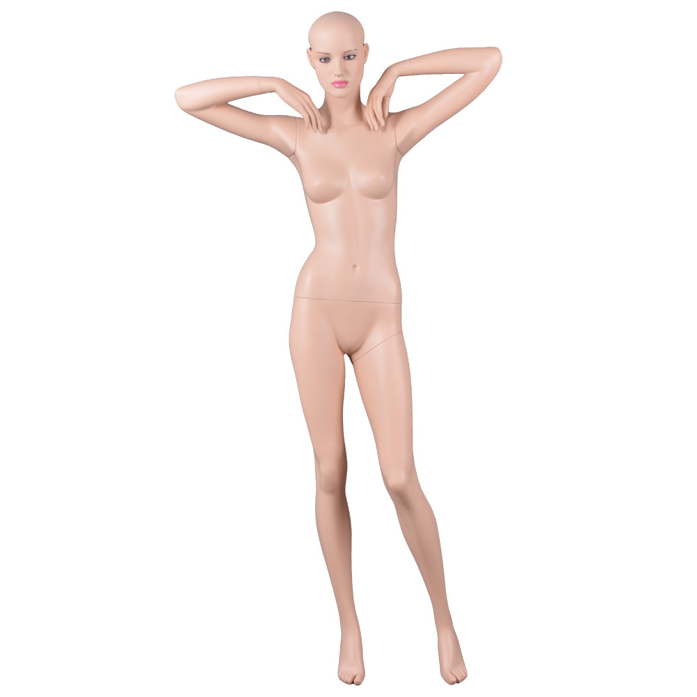 Ela-1 Sexy realistic full body standing beautiful female mannequin for lingerie display