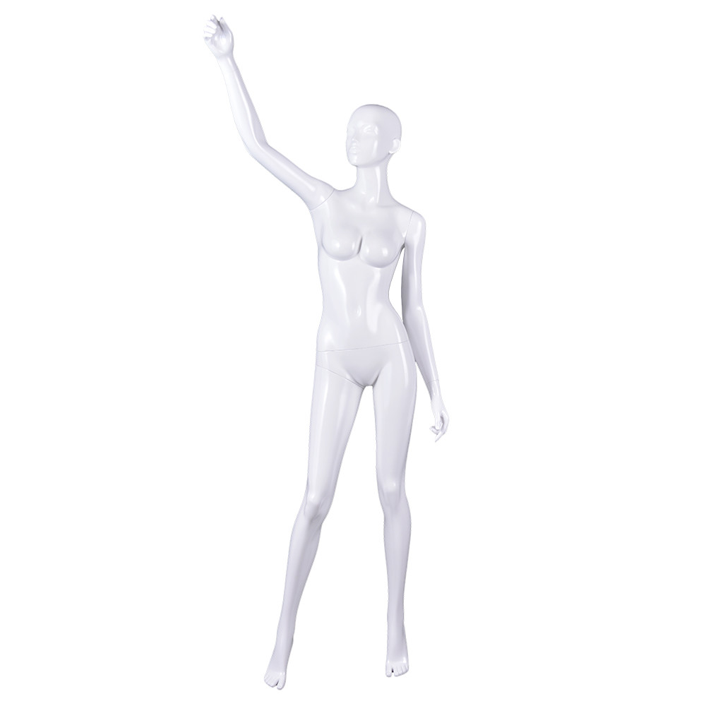 RNF-2 Ssexy full body style female mannequins glossy white ifelike dummy for retail store display