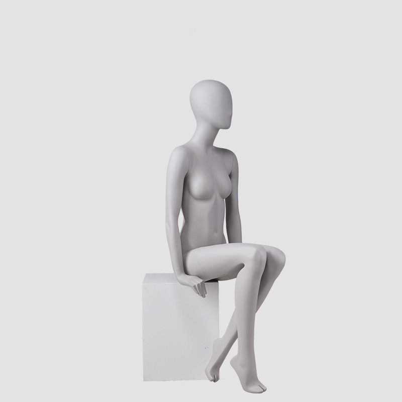 90-S9 Female full body mannequin sitting women dummy manufacturer for retail store display