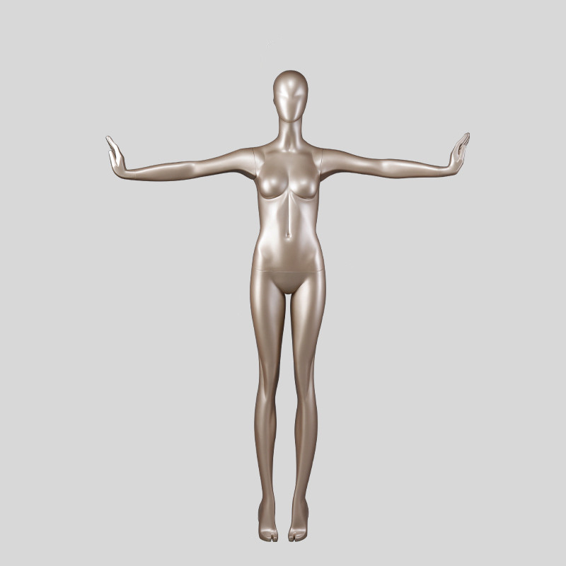 90-S11 Tall and slim fiberglass dummy full body female forms for store dummies mannequins