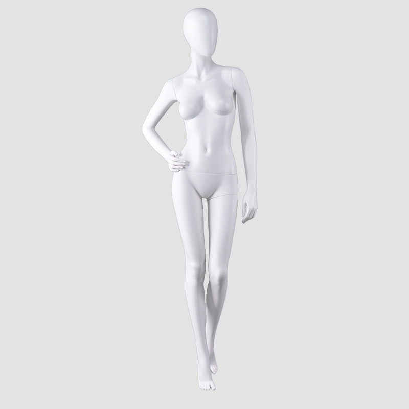 AS-1 fashion full female mannequin plastic  white lady mannikin for dresses