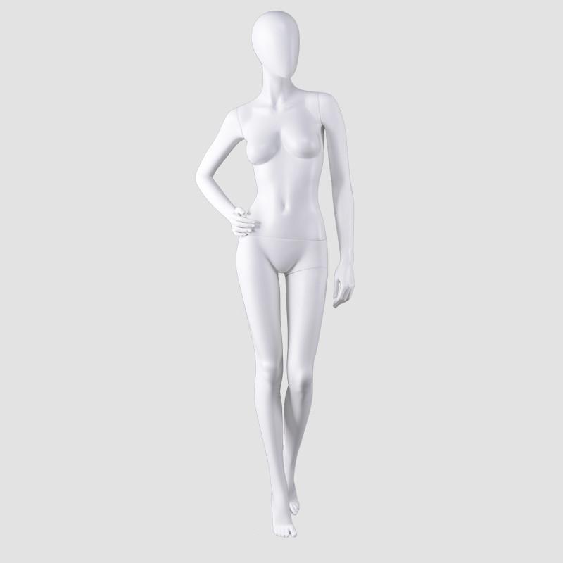 AS-1 fashion full female mannequin plastic  white lady mannikin for dresses