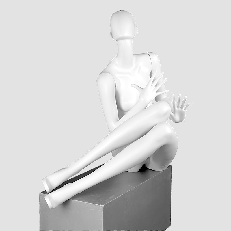 ELF-8 Fashion female sitting mannequin sex girls full size dummy for clothes