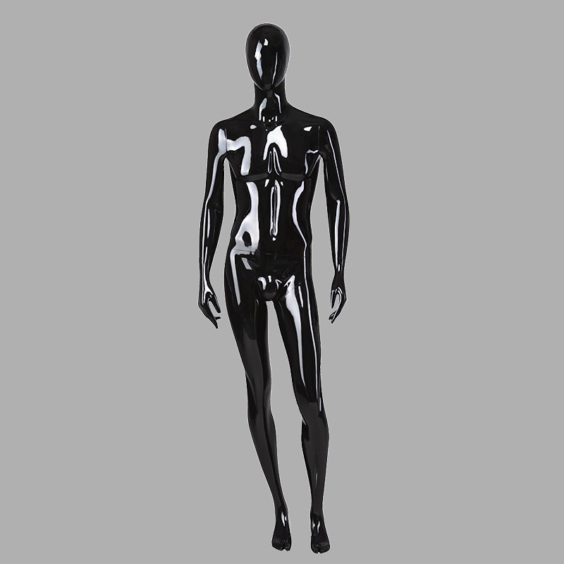 70-S2 Wholesale male mannequin black full body male maniqui with changer head