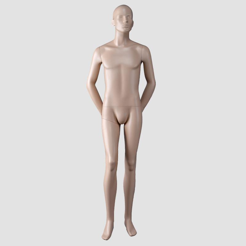 Jack-5 Skin color matt male full body mannequin male lifelike mannequin men