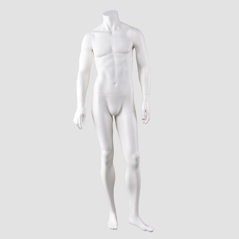 JB-5 Full body men dummy headless male garment dummy mannequin for window display