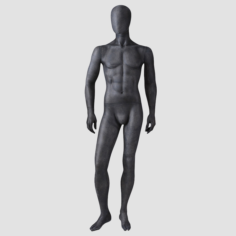 MPM-4 Sex mannequin male full body maniqui black male mannequin with faceless head