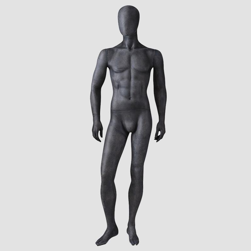 MPM-4 Sex mannequin male full body maniqui black male mannequin with faceless head