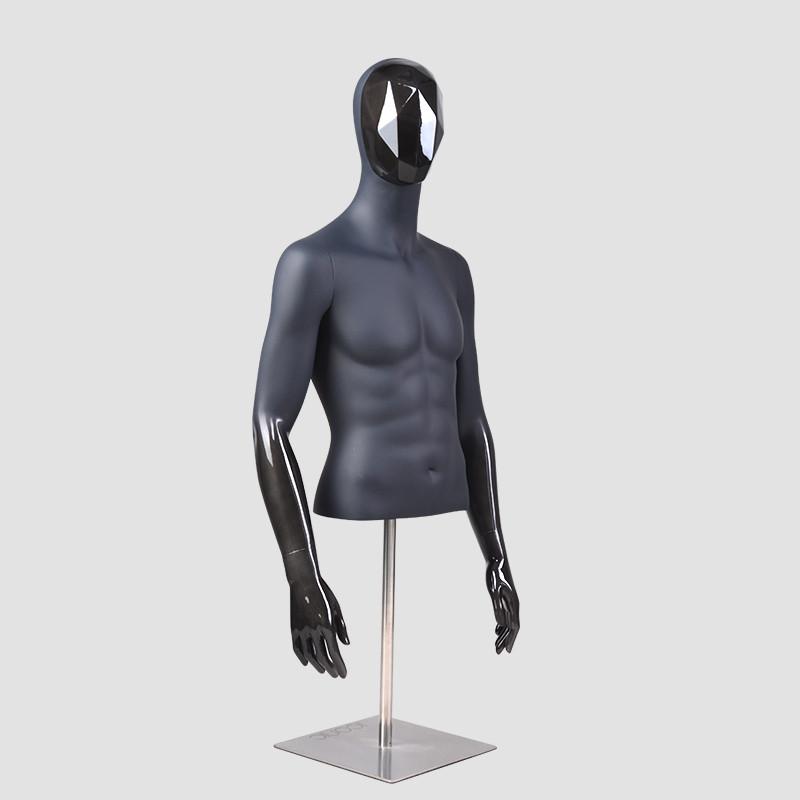 FJ-3 Custom brand mannequin hald body mannequin male upper mannequin torso