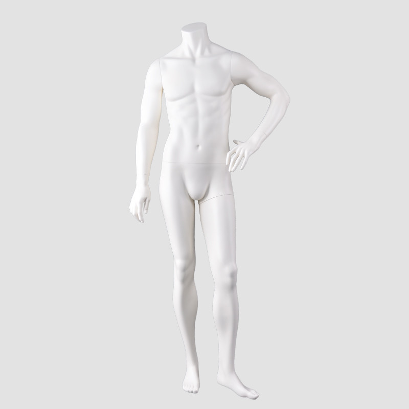 JB-5 Full body men dummy headless male garment dummy mannequin for window display