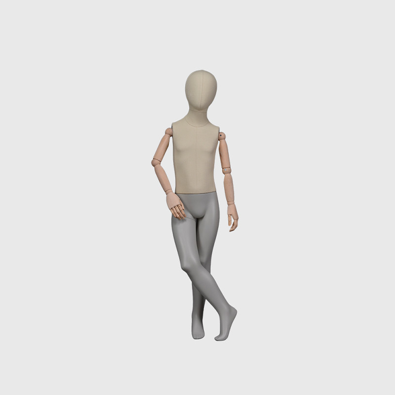 Full body abstract children mannequin child mannequin form