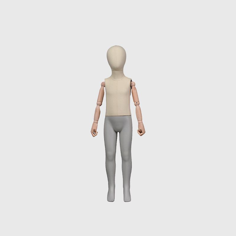 Standing flexible kids mannequin