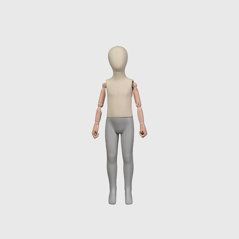 Standing flexible kids mannequin