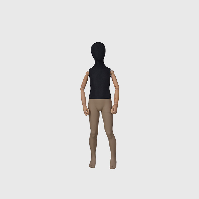 Black kids mannequin full body mannequin child on sale