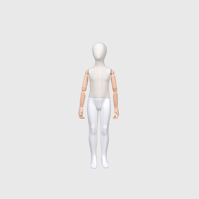 Factory price kids manikin flexible mannequin