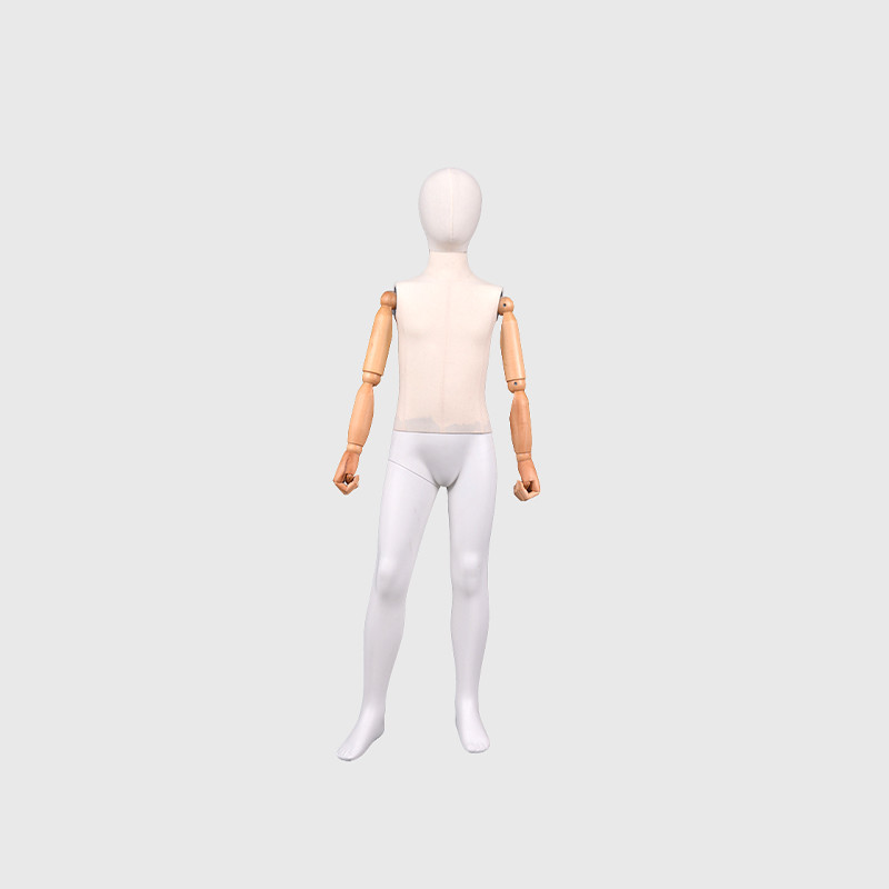 Movable joint child mannequin full body child mannequin