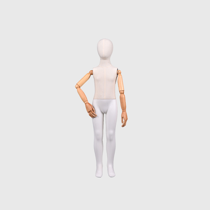 Child dress form full body fabric mannequin boy for sale