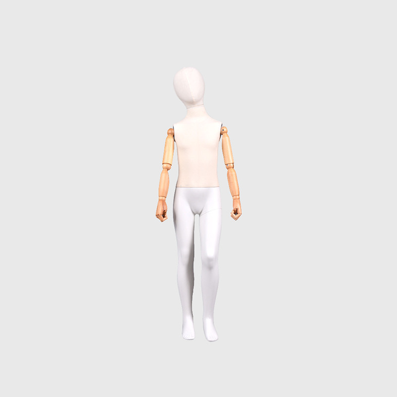 Moveable teen mannequin clothes used child mannequins