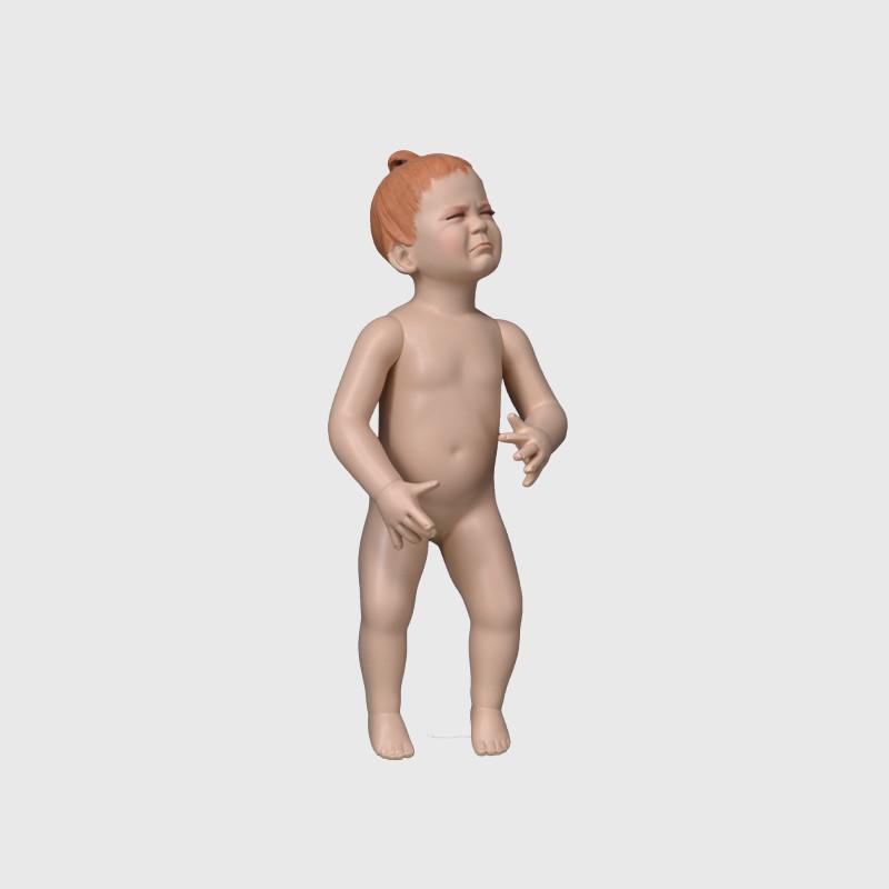 Make-upbaby mannequin 6 month baby mannequin model