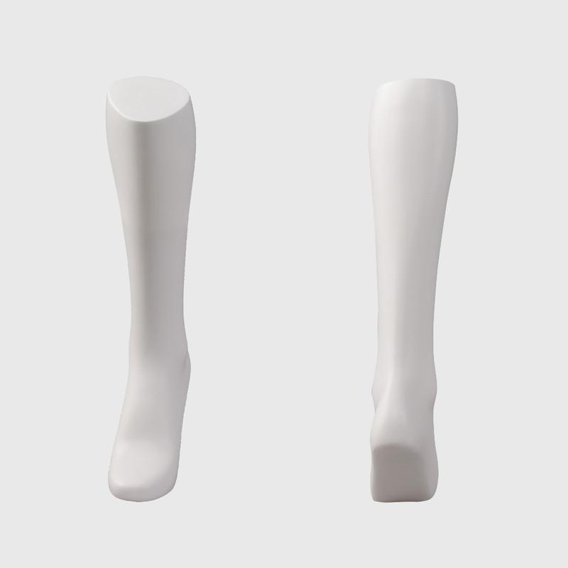 Female feet mannequin for socks display