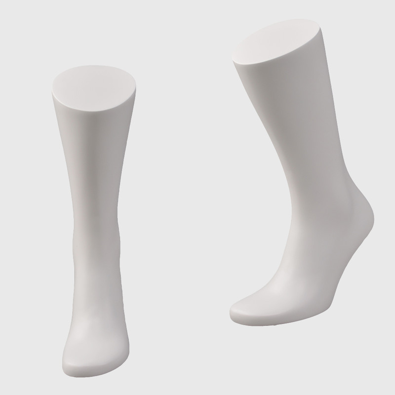 Male sock mannequin foot with magnet stand