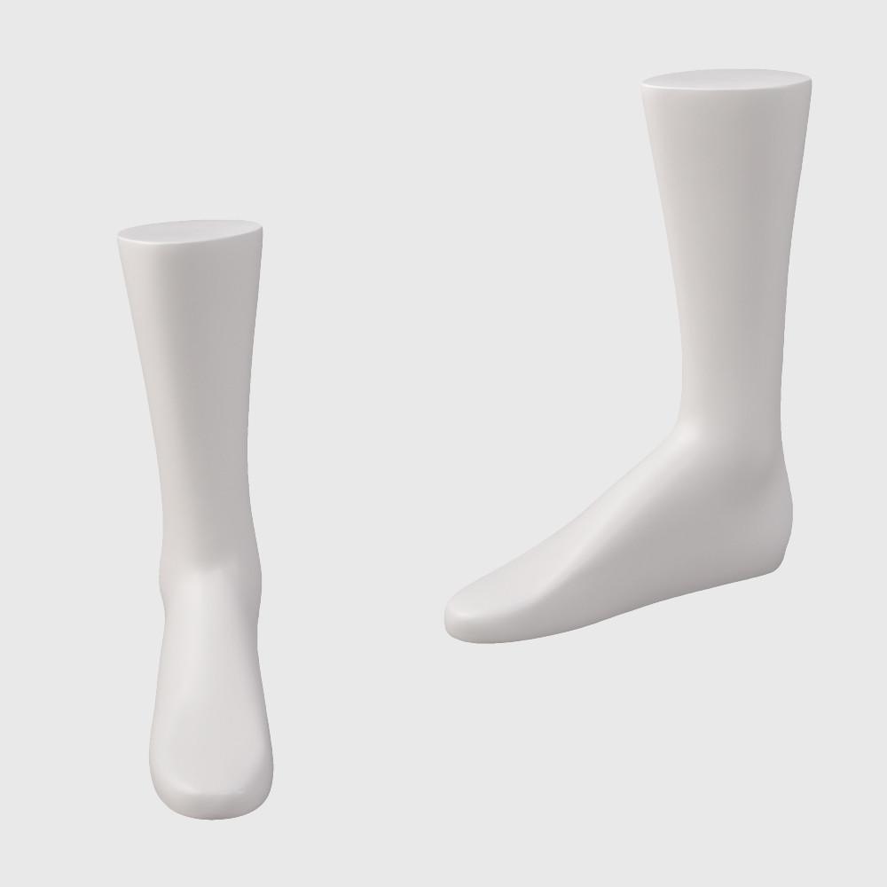 Female mannequin foot sock display mannequin model