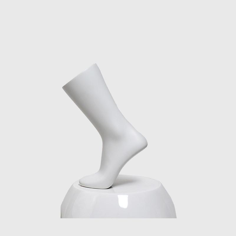 Foot mannequin for socks display mannequin