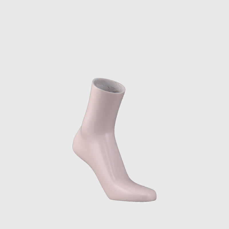 Skin color hollow out female mannequin foot