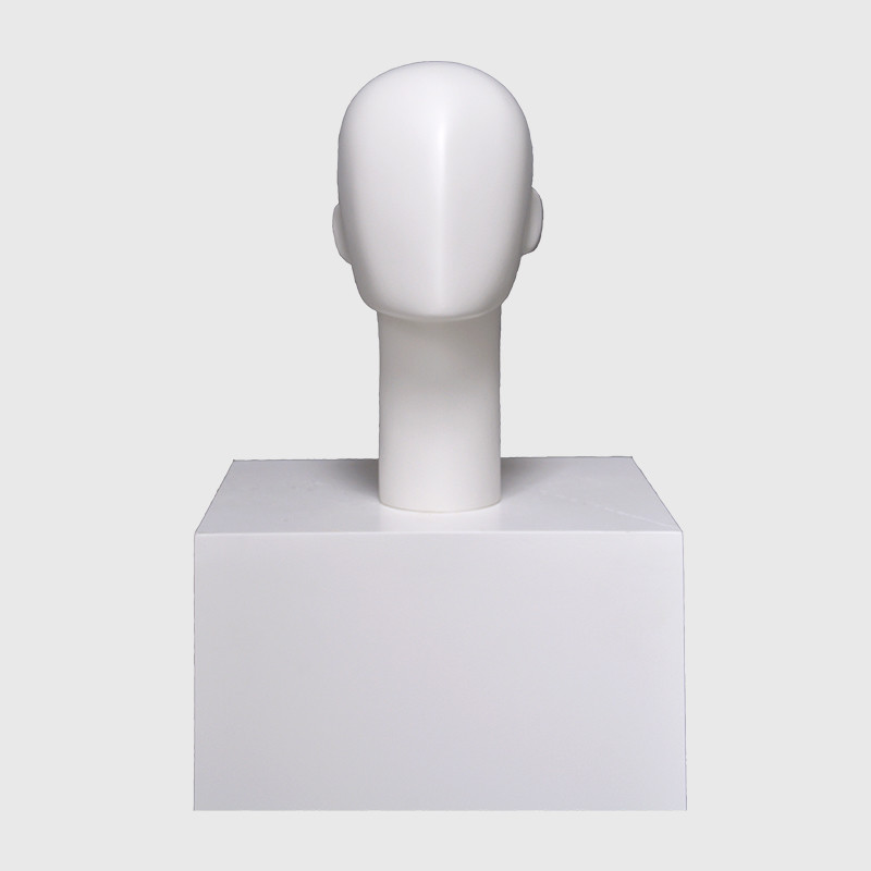 Shop display mannequin head for wigs and hat