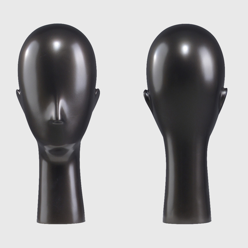 Semi abstract mannequin wigs display mannequin head