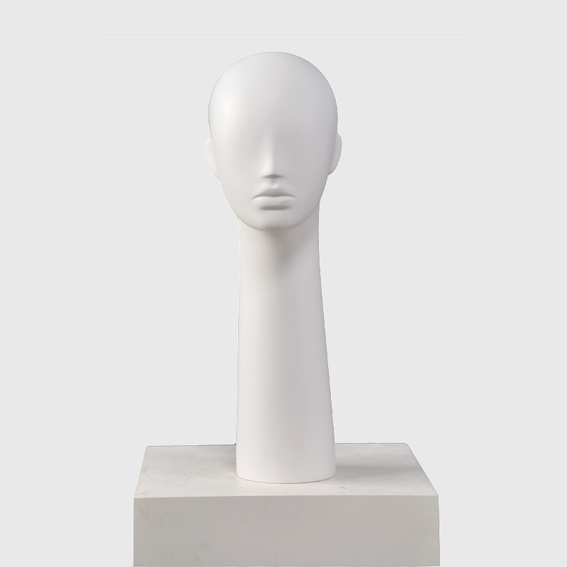 Long mannequin head female