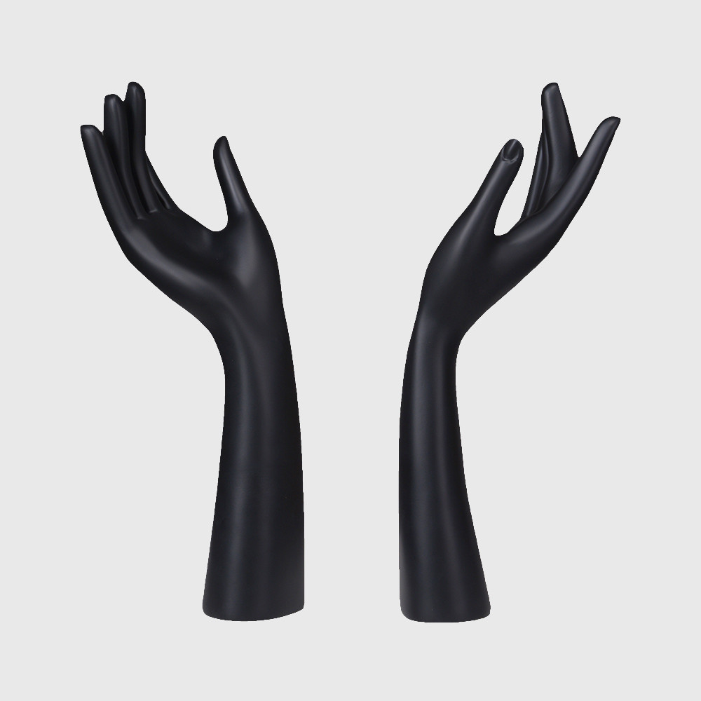 Plastic mannequin hands female display resin hand for jewellary display