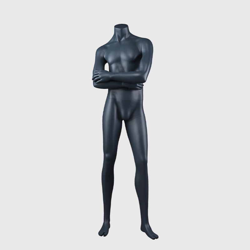 Custom muscle manikin strong black muscle mannequins male