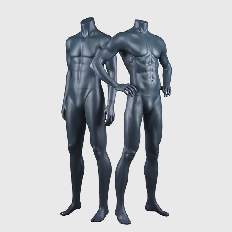 Strong muscular mannequin male full body fitness muscled mannequin