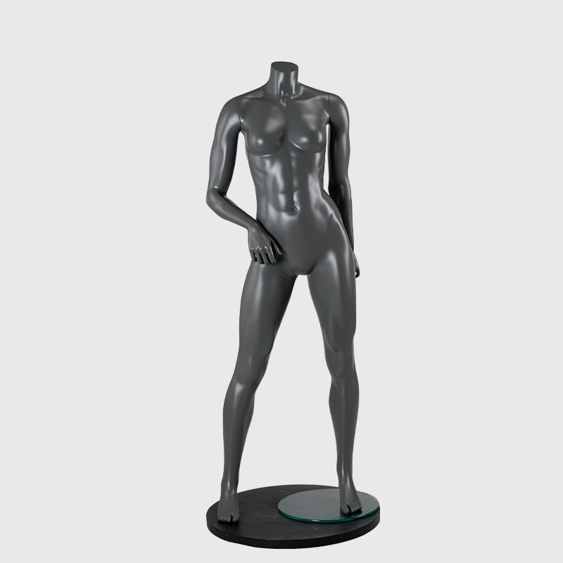 Athletic mannequin sports clothes muscled female mannequin for sale